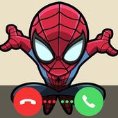 Spiderman Fake Calling Simulator icon