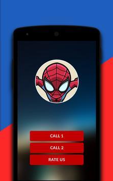 Spiderman Fake Calling Simulator apk screenshot