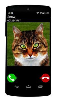 fake call cat game screenshot 1