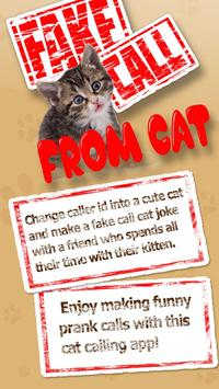Fake Call From Cat poster