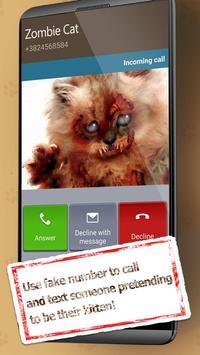 Fake Call From Cat screenshot 3