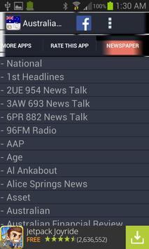 Australia Radio News screenshot 3
