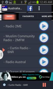 Australia Radio News screenshot 1