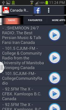 Canada Radio News poster