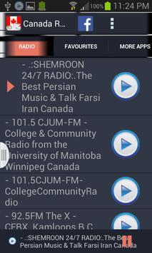 Canada Radio News screenshot 1