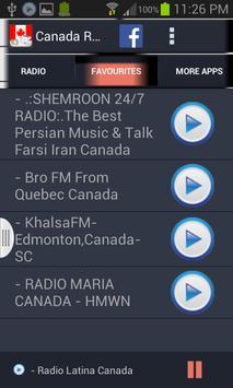 Canada Radio News screenshot 2