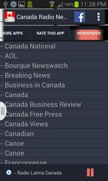 Canada Radio News screenshot 8