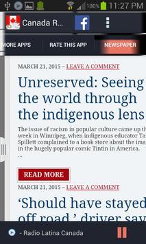 Canada Radio News screenshot 9