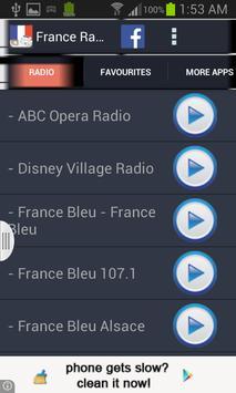 France Radio News poster