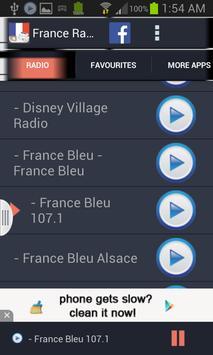 France Radio News screenshot 1