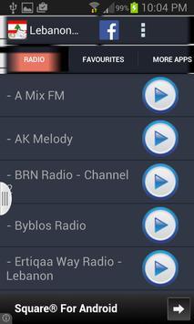 Lebanon Radio News screenshot 12