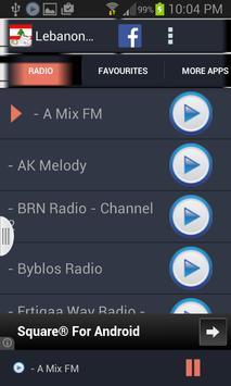 Lebanon Radio News screenshot 1