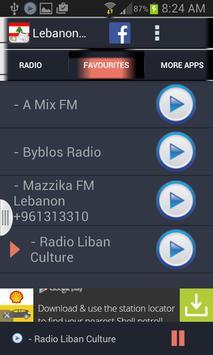Lebanon Radio News screenshot 2