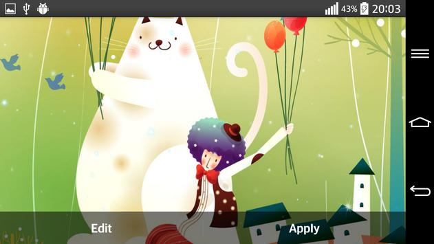 Fairy Tale Live Wallpaper apk screenshot