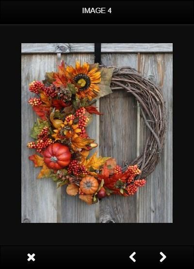 Fall Door Wreaths poster