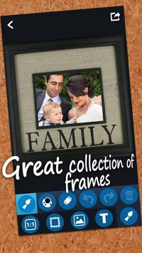 Family Photo Frame Maker screenshot 3