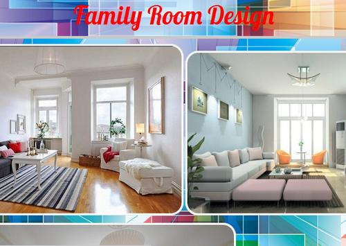 Family Room Design poster