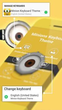 Keyboard Minion Theme poster