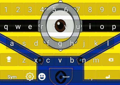 Keyboard Minion Emoji screenshot 3
