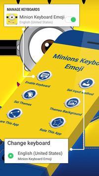 Keyboard Minion Emoji poster