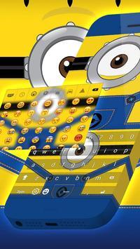 Keyboard Minion Emoji screenshot 1