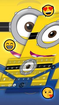 Keyboard Minion Emoji screenshot 2