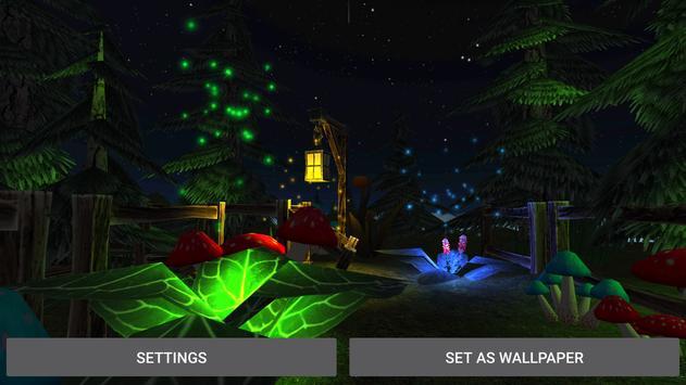 Fantasy Forest Live Wallpaper apk screenshot