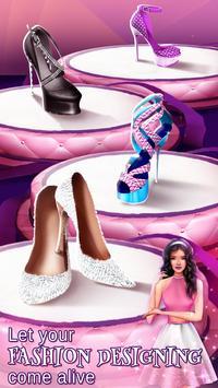 Fashion Designer & High Heels Games for Girls screenshot 1