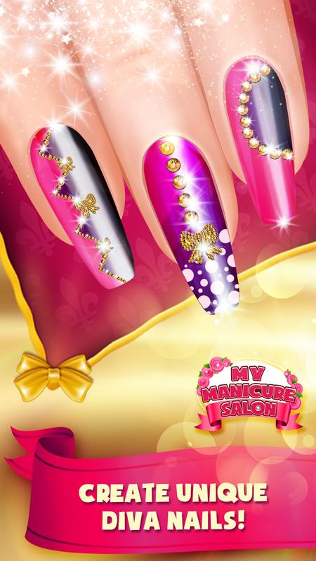My Manicure Salon Nail Art Designs Games Apk Download Free Beauty