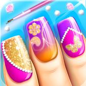 Fashion Nail Salon Game icon