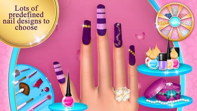 Fashion Nail Salon Game apk screenshot
