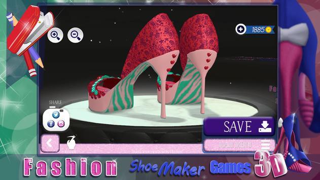 Fashion Shoe Maker Games 3D screenshot 3