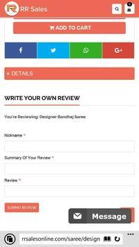 RRsales - Online Shopping apk screenshot