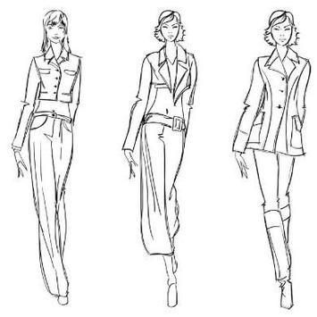 Fashion Design Sketches apk screenshot