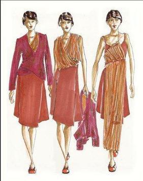Fashion Designing Sketches poster