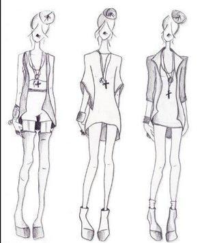 Fashion Designing Sketches screenshot 10
