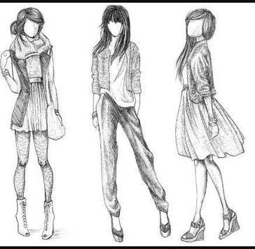 Fashion Designing Sketches screenshot 12