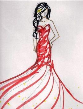 Fashion Designing Sketches screenshot 6