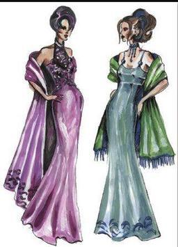 Fashion Designing Sketches screenshot 8