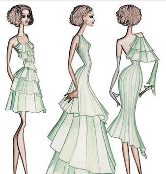 Fashion Designing Sketches apk screenshot