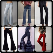 Fashion Jeans Bell-Bottoms icon