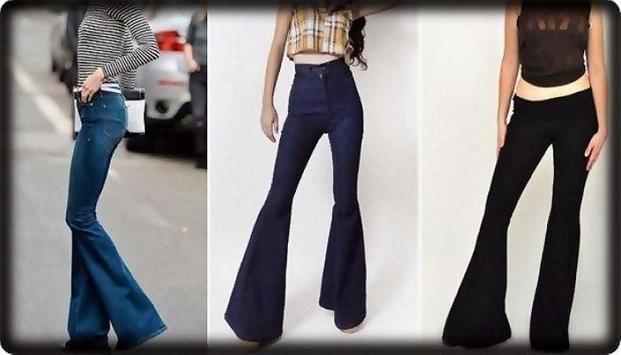 Fashion Jeans Bell-Bottoms screenshot 4