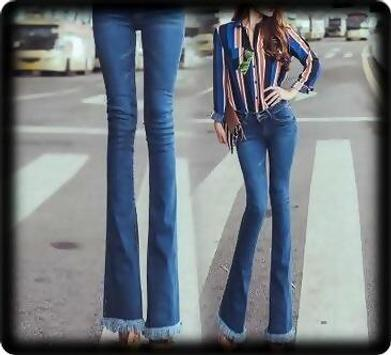 Fashion Jeans Bell-Bottoms screenshot 9