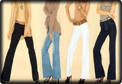 Fashion Jeans Bell-Bottoms screenshot 2