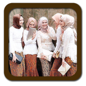 Indonesian Kebaya Fashion Hijab icon