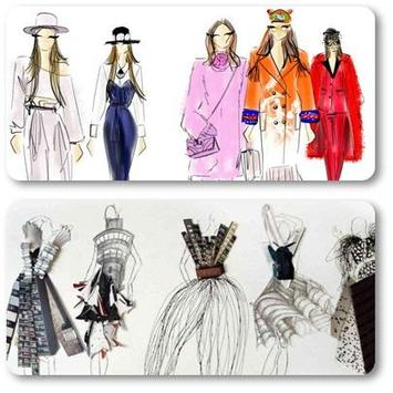 Fashion Sketch Ideas 2018 poster