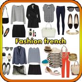Fashion french style icon
