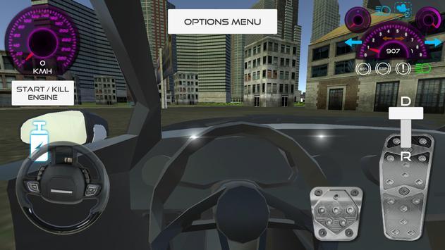 Fast Car Simulator poster
