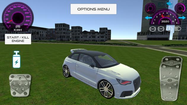 Fast Car Simulator apk screenshot