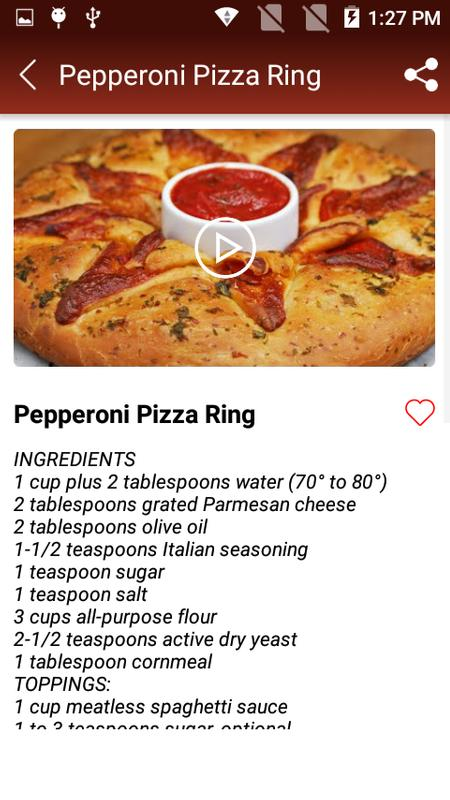 Fast food recipes for android apk download fast food recipes screenshot 6 forumfinder Choice Image
